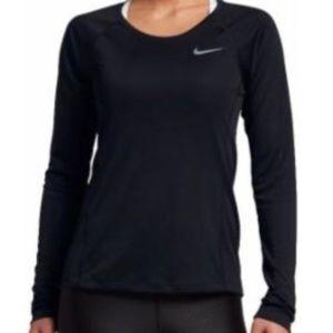 Nike miler long sleeve shirt